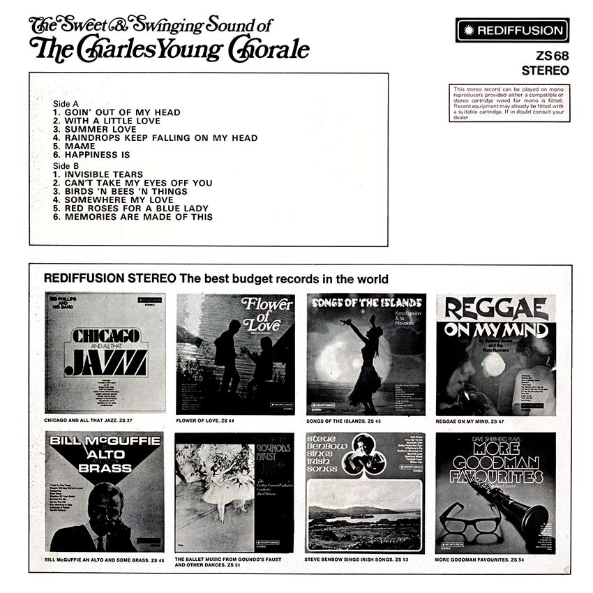 The Charles Young Chorale - The Sweet and Swinging Sound of