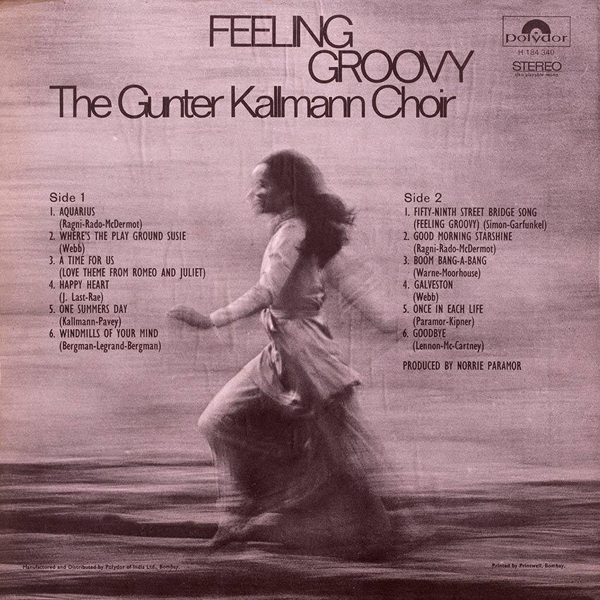 The Gunter Kallman Choir - Feeling Groovy