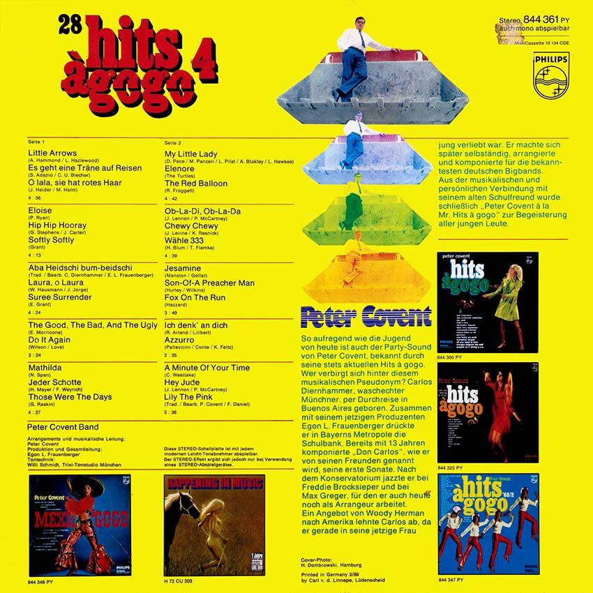 Peter Covent – 28 Hits à Gogo 4