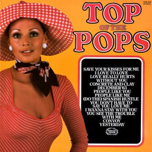 Top of the Pops Vol. 51 - another in the outstanding series of Top of the pops album covers.