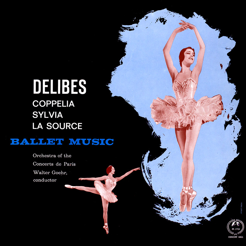 Delibes, Orchestra Of The Concerts De Paris, Walter Goehr – Ballet Music