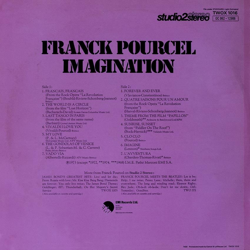 Franck Pourcel - Imagination
