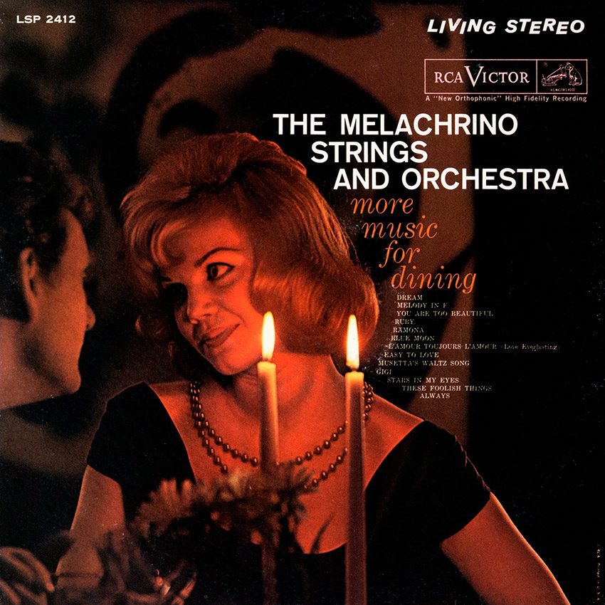 The Melachrino Strings and Orchestra – More Music For Dining